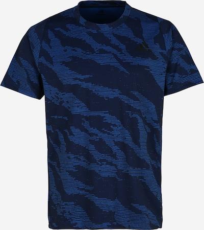 ADIDAS PERFORMANCE Sport-Shirt 'FL CAMO' in blau, Produktansicht