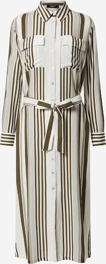 SISTERS POINT Kleid 'ISABEL-L.SH' in khaki / weiß, Produktansicht