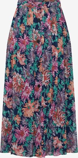 POSTYR Damen - Röcke 'POSANA LONG SKIRT' in blau / mischfarben, Produktansicht