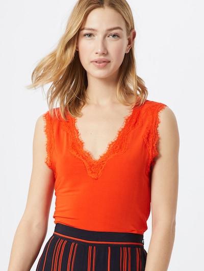 SOAKED IN LUXURY Top 'SLClara' in orangerot, Modelansicht