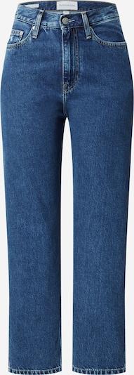 Calvin Klein Jeans Jeans in de kleur Blauw denim: Vooraanzicht