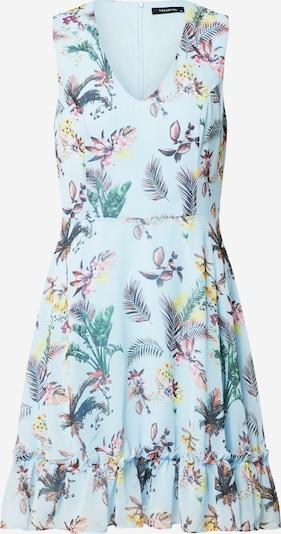 Trendyol Letní šaty - světlemodrá / mátová: Pohled zepředu