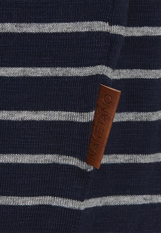 Bleu shirt 'striped T FoncéGris Naketano En Girl' tshQCxBdr