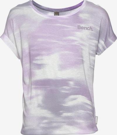 BENCH T-Shirt in helllila / weiß, Produktansicht