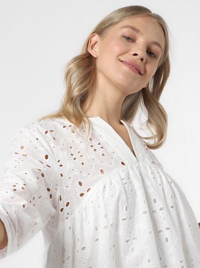 Marie Lund Kleid in weiß, Produktansicht