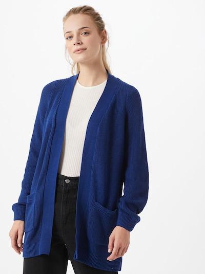 Noisy may Strickjacke 'Arianna' in kobaltblau, Modelansicht