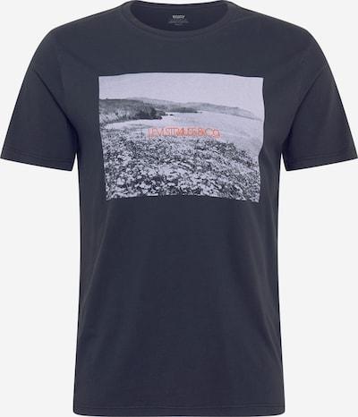 Tricou LEVI'S pe gri / gri deschis / portocaliu închis / negru, Vizualizare produs
