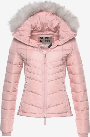 Superdry Jacke 'Luxe Fuji' in rosa, Produktansicht