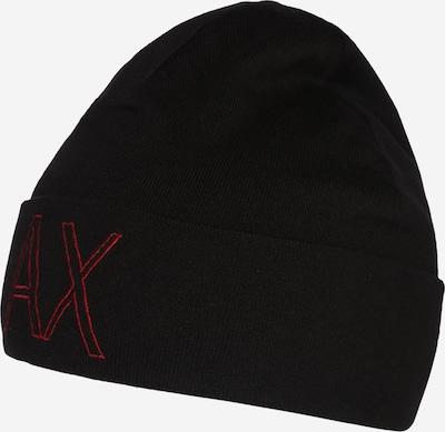 ARMANI EXCHANGE Muts in de kleur Rood / Zwart, Productweergave