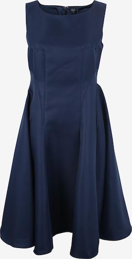 Chi Chi Curve Cocktailjurk 'ANTHEA' in de kleur Blauw, Productweergave