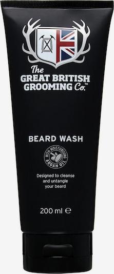The Great British Grooming Co. Bartshampoo in schwarz / weiß, Produktansicht