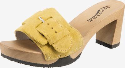 SOFTCLOX Clogs 'Lawinia' in gelb, Produktansicht