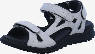 Legero Sandale in schwarz / weiß, Produktansicht
