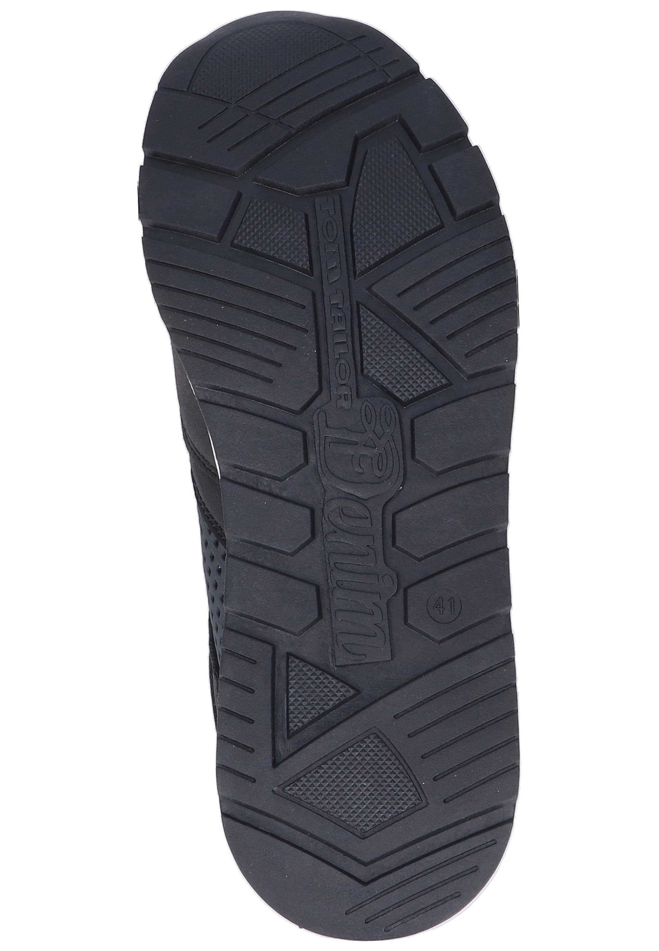 In Schwarz NachtblauBeere Sneaker Tom Tailor wOPk8n0