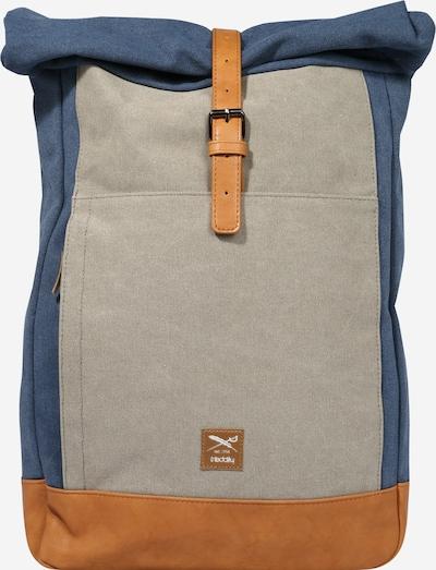 Iriedaily Sac à dos 'Heavy' en beige / bleu / gris, Vue avec produit