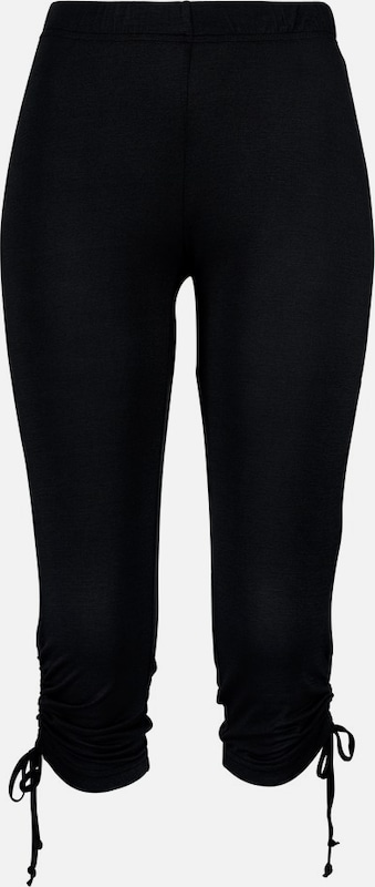 BEACH TIME Leggings 'ethno' in schwarz, Produktansicht