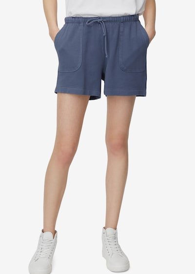 Marc O'Polo Shorts in taubenblau, Modelansicht