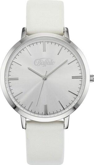 BUFFALO Uhr in weiß, Produktansicht