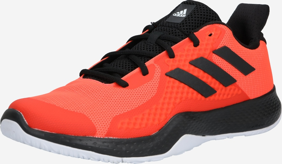 ADIDAS PERFORMANCE Trainingsschuh in dunkelorange / schwarz, Produktansicht