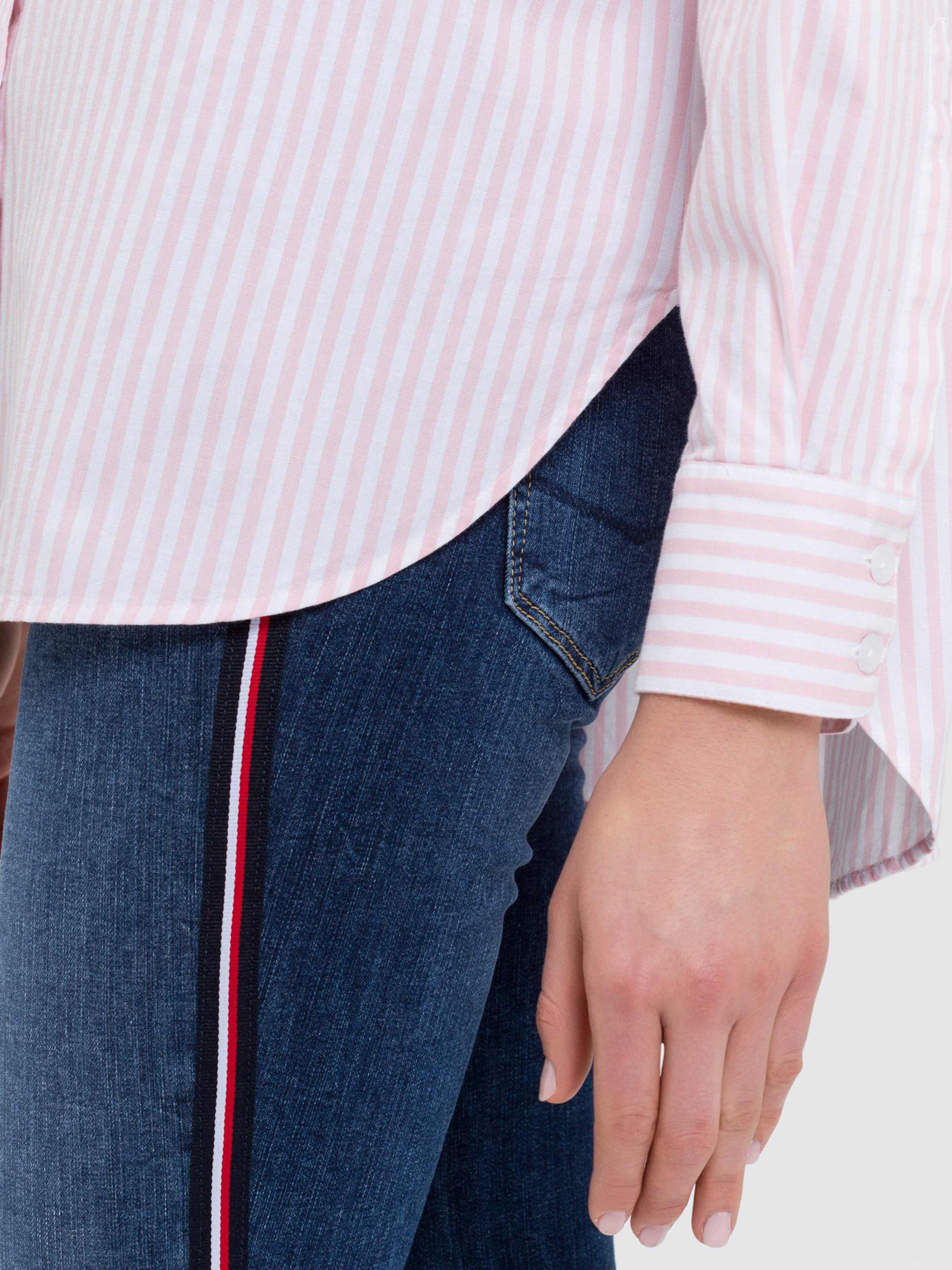 Jeans In In Bluse Cross RosaWeiß Jeans Jeans Bluse Cross Cross Bluse RosaWeiß bfYyv76gI