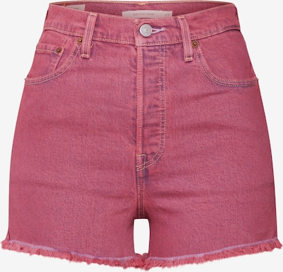 LEVI'S Shorts 'RIBCAGE' in pink, Produktansicht