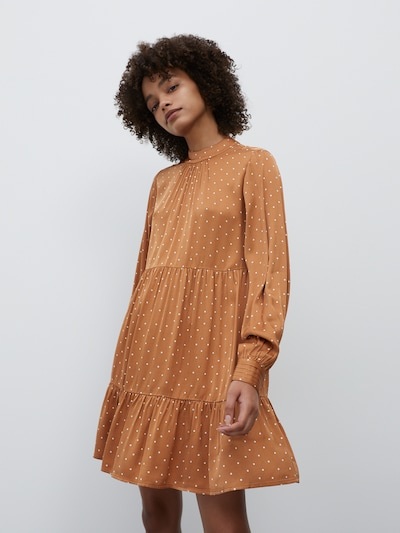EDITED Kleid 'Giselle' in orange, Modelansicht
