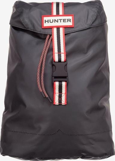 HUNTER Rucksack in hellrot / schwarzmeliert / weiß, Produktansicht
