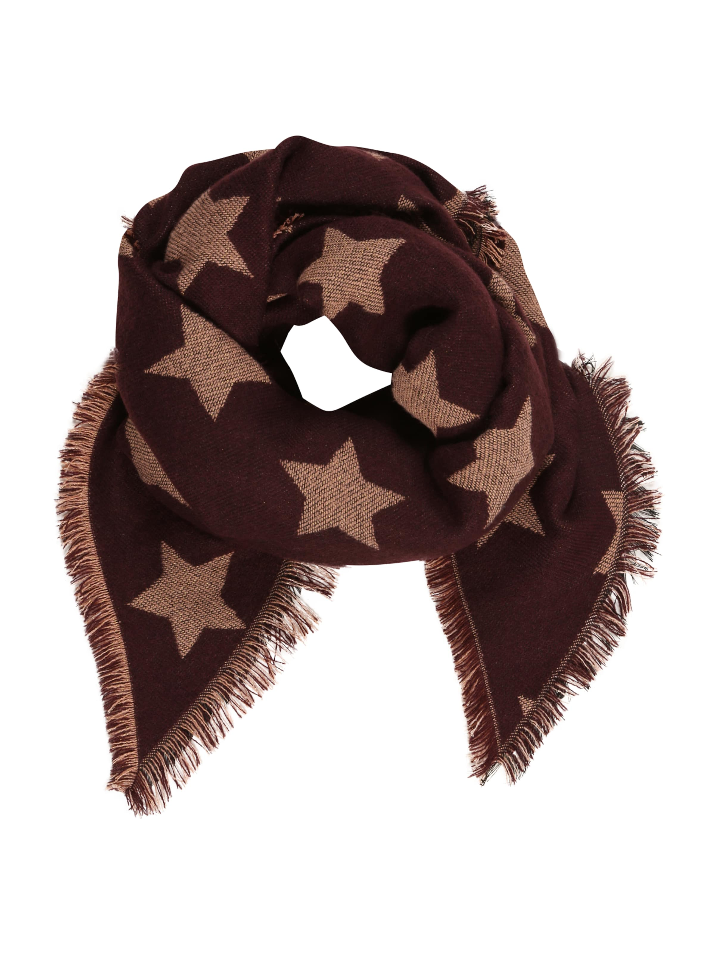 Marron Pieces Foulard En 'pcluna' 'pcluna' Marron En Pieces Foulard l1KuT3cFJ5