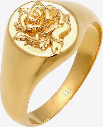 Inele 'Rose' de la ELLI pe auriu