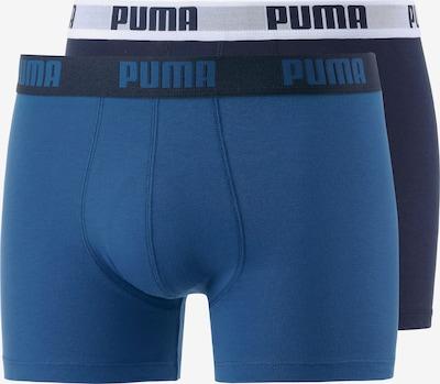 PUMA Boxer Herren in navy / dunkelblau / weiß, Produktansicht