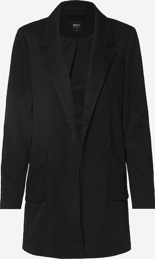ONLY Mantel 'ONLBAKER-AUBREE L/S STRIPE COATIGAN PNT' in schwarz, Produktansicht