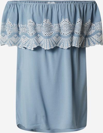 VILA Shirt 'Latti' in blau / weiß, Produktansicht