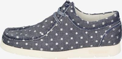 SIOUX Damen Schuh in taubenblau / weiß, Produktansicht