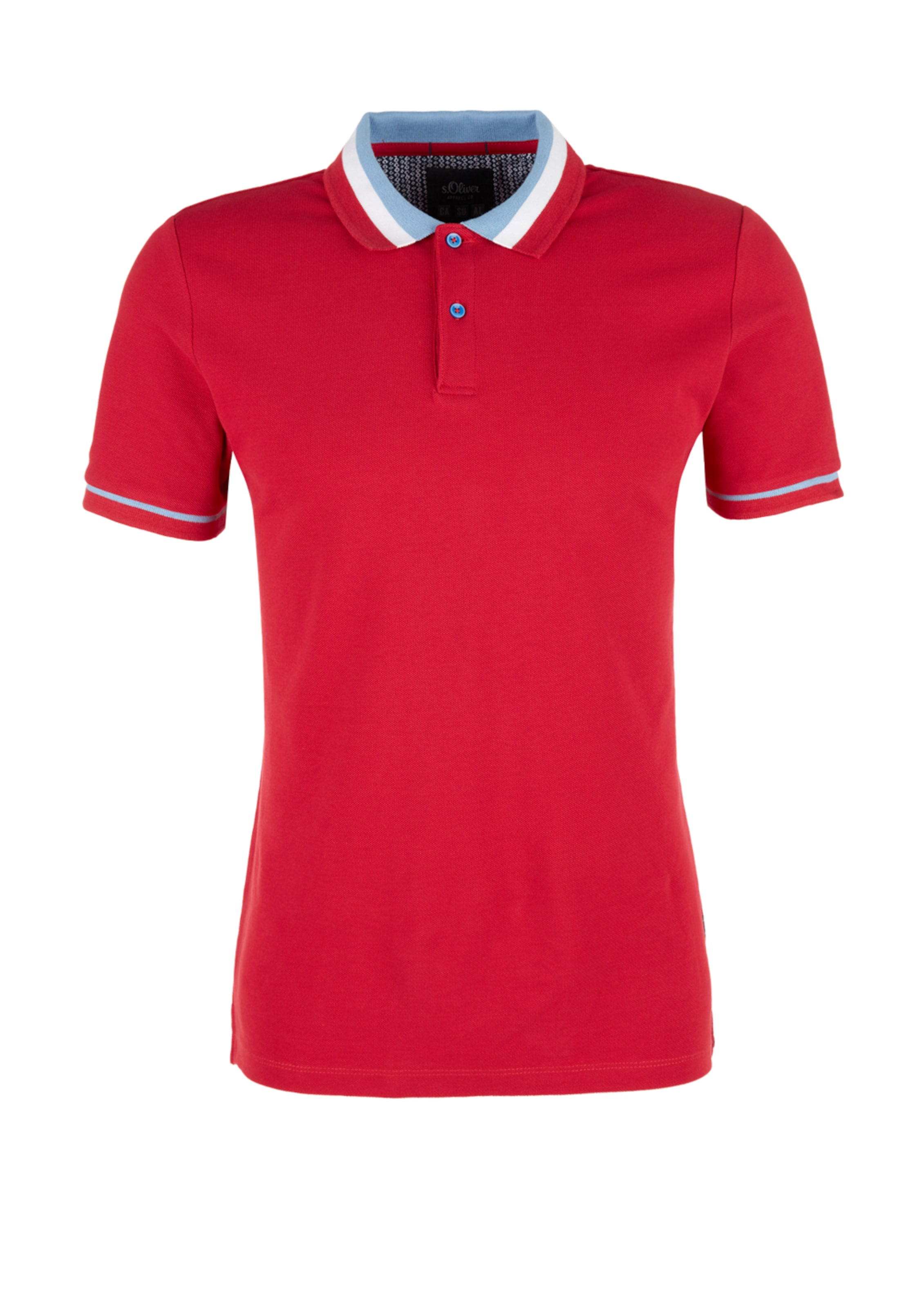 Red Shirt RauchblauRot Weiß In Label S oliver 0XnO8PNwk