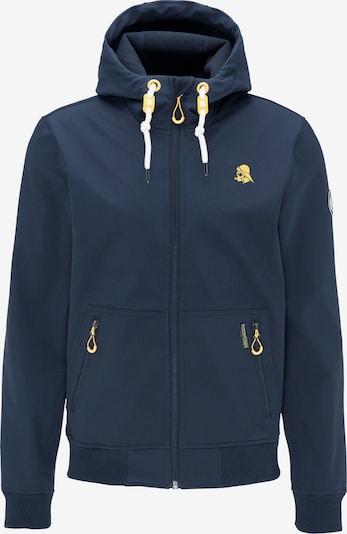 Schmuddelwedda Functionele jas in de kleur Donkerblauw, Productweergave