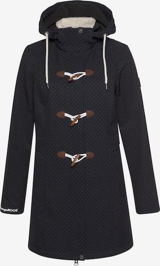 KangaROOS Outdoorjacke in schwarz / weiß, Produktansicht