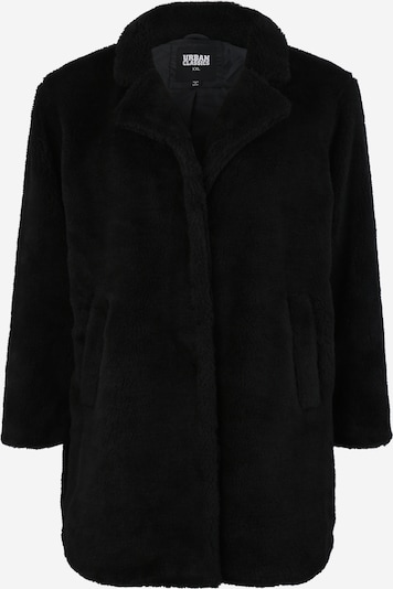 Urban Classics Curvy Between-seasons coat 'Sherpa' in Black, Item view