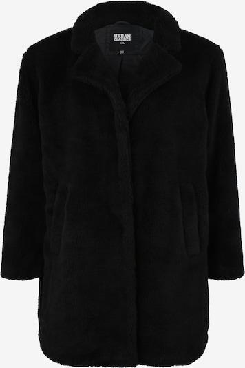 Urban Classics Curvy Kevad-sügismantel 'Sherpa Coat' must, Tootevaade