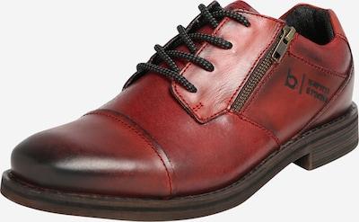 bugatti Schuh 'Kiano Exko' in dunkelrot, Produktansicht