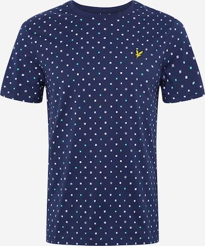 Lyle & Scott Shirt in de kleur Navy / Wit, Productweergave