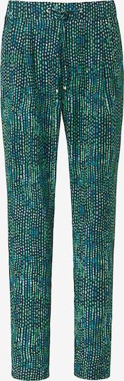 Basler Hose mit Tunnelzug und Allover-Muster in tanne, Produktansicht