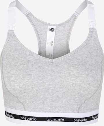 Bravado Designs Nursing Bra in Grey