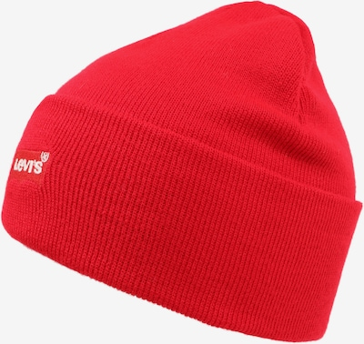 LEVI'S Mütze 'RED BATWING EMBROIDERED SLOUCHY BEANIE' in rot, Produktansicht