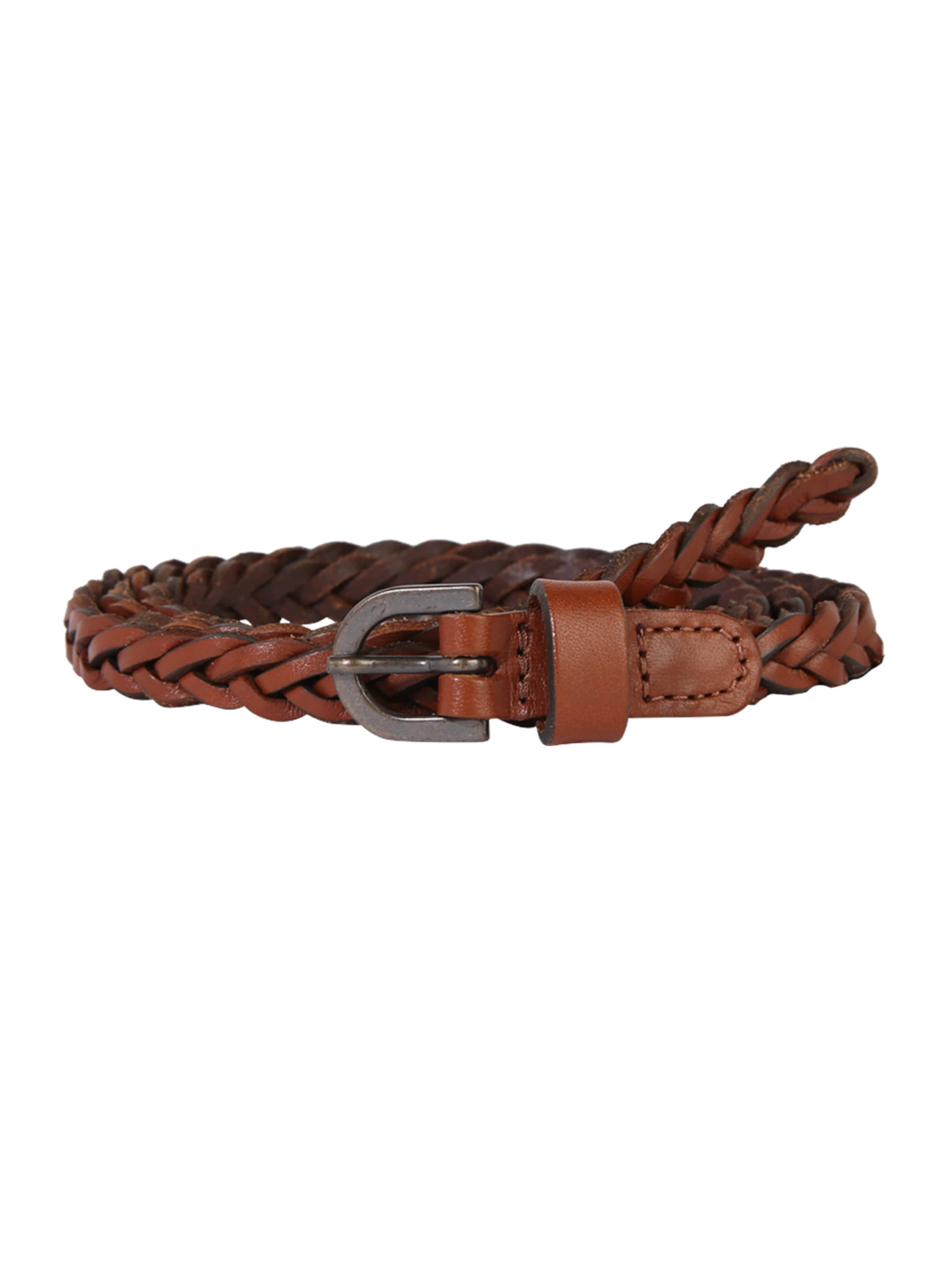 Noos' Ceinture Waist Belt En Cognac Pieces 'pcalima Leather gybf76