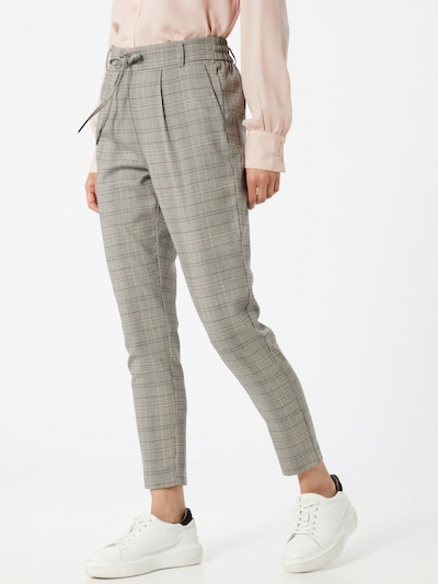 ONLY Trousers 'Poptrash' in grey mottled / black, View model