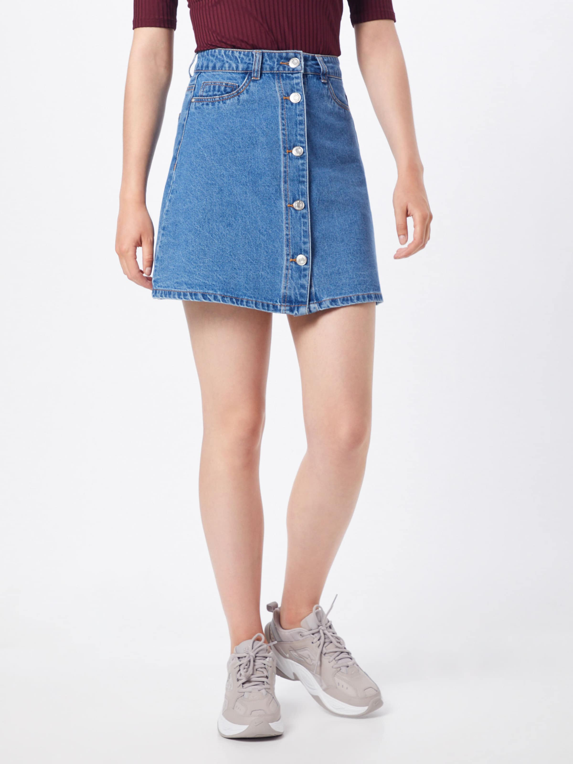 May 'sunny' Noisy En Bleu Jupe Denim bf76gy