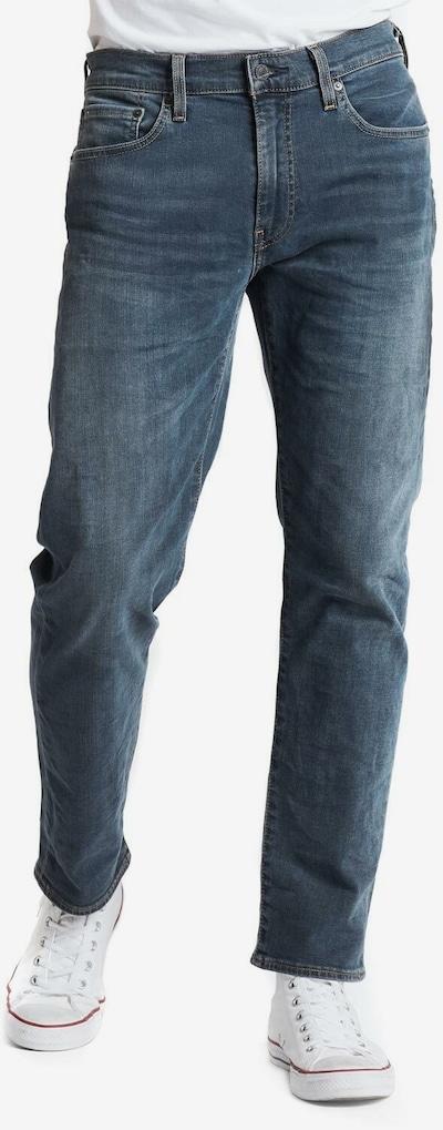 LEVI'S Jeans ' 502 Regular Taper ' in black denim, Modelansicht