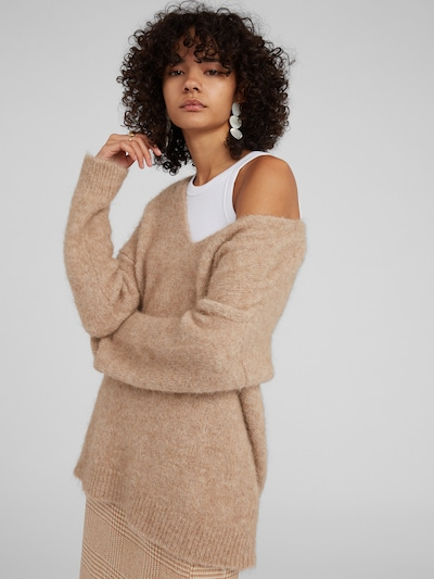 EDITED Pullover 'Fawini' in camel, Modelansicht
