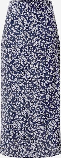 Cotton On Rok '90s' in de kleur Blauw / Wit: Vooraanzicht