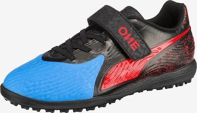 PUMA Fußballschuhe 'ONE 19.4 TT V JR' in blau / rot / schwarz, Produktansicht